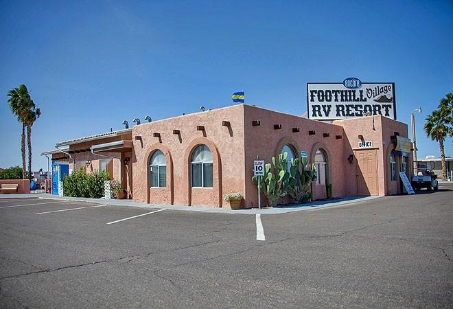Rvpoints Com Foothill Village Rv Resort Yuma Az