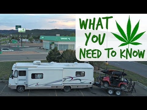 The RV Life & Cannabis ~ RVing into Colorado