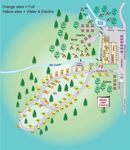 Elk Valley Flyshop & RV Park - La Veta, CO - RV Parks