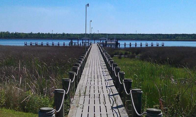 White Oak Shores Camping & RV Resort - Stella, NC - RV Parks