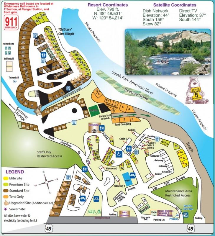 Ponderosa RV Resort - Lotus, CA - Thousand Trails Resorts