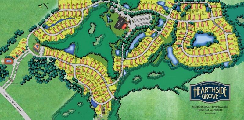 Hearthside Grove - Petoskey, MI - RV Parks