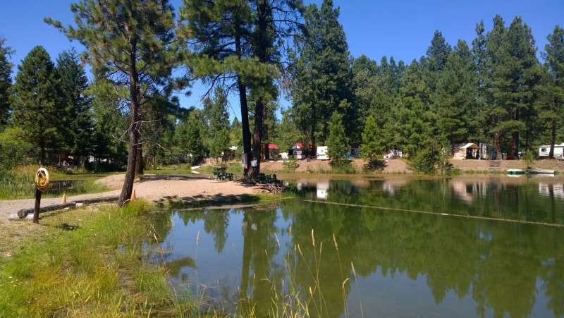 Mountain River Trails Camping - Cle Elum, WA - RV Parks ...