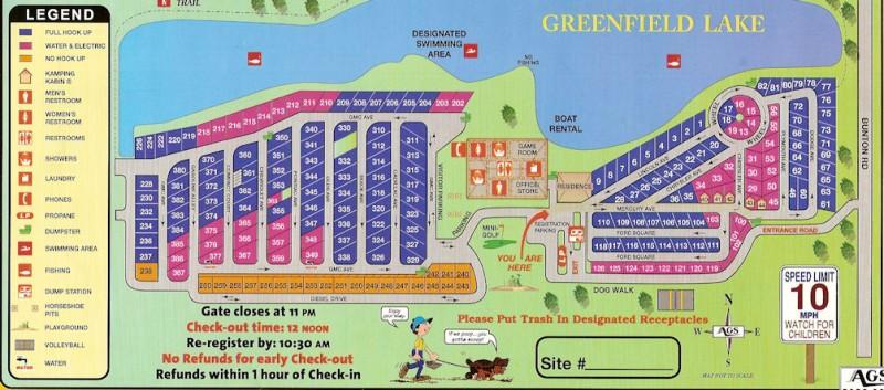 Detroit Greenfield Rv Park Ypsilanti Mi Rv Parks