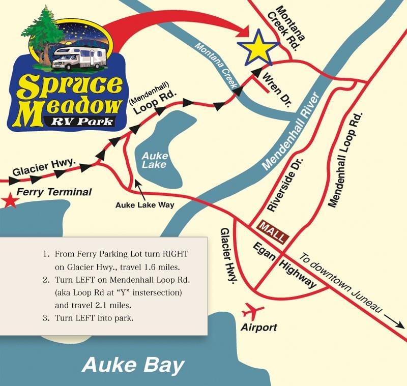 Spruce Meadow RV Park - Juneau, AK - RV Parks
