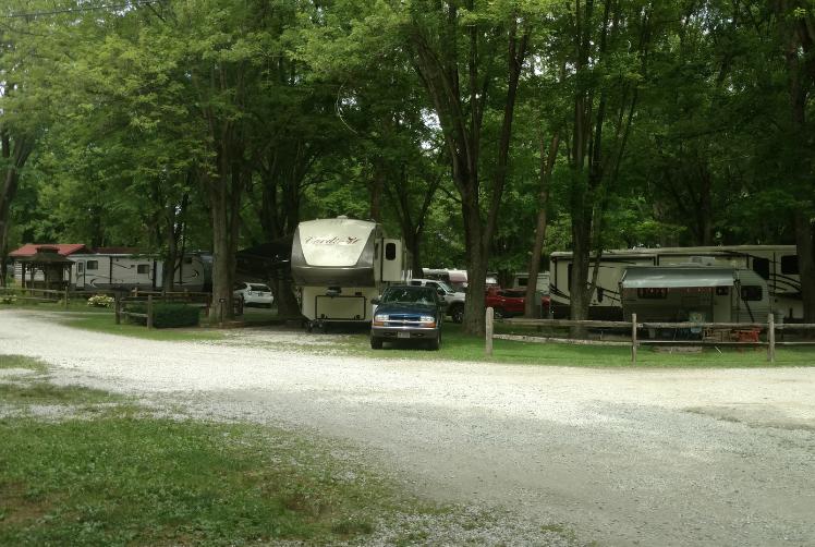 Frontier Campground - Waynesville, OH - RV Parks