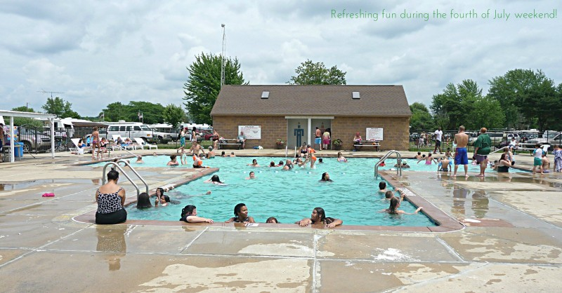 Greenwood acres campground jackson mi rv parks for Camping sites with swimming pools