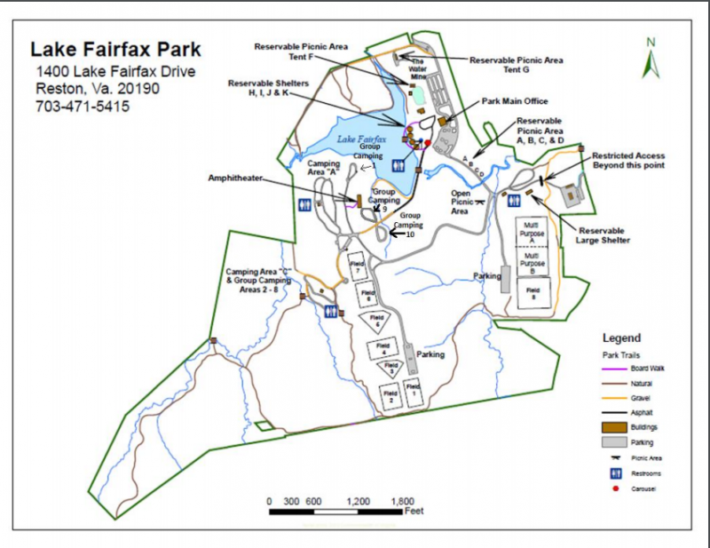 Lake Fairfax Park - Reston, VA - County / City Parks