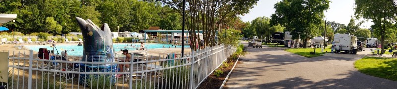 Holiday Trav L Park Virginia Beach Va Rv Parks