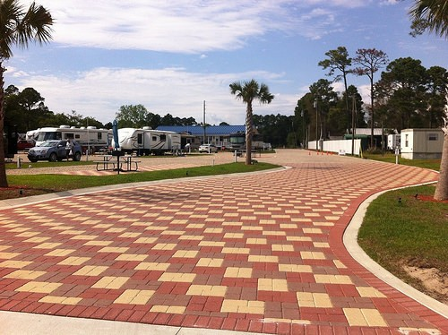 Coastline RV Resort - Eastpoint, FL - RV Parks
