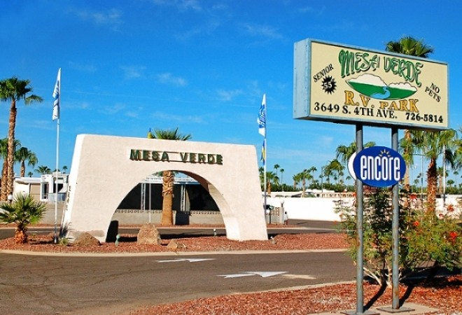 Mesa Verde Rv Resort Yuma Az Encore Resorts