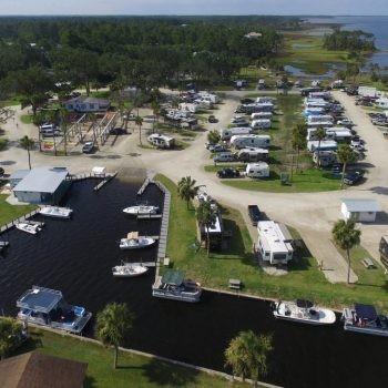 Presnells Bayside Marina & RV Resort - Port St Joe, FL - RV Parks
