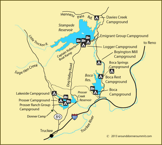 Logger Campground - Truckee, CA - RV Parks
