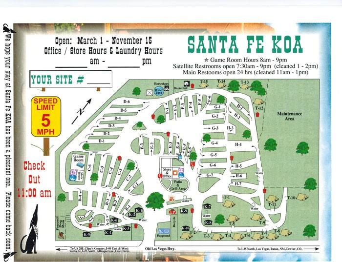 Santa Fe Koa Santa Fe Nm Koa Rvpoints Com