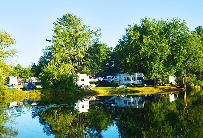 Lake George Escape Campground - Diamond Point, NY - Encore Resorts