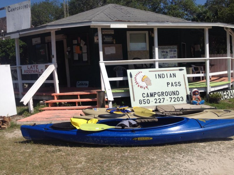 Indian Pass Campgrounds - Port St Joe, FL - RV Parks
