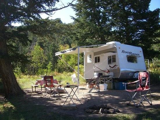 Estes Park Campground At East Portal Estes Park Co Rv