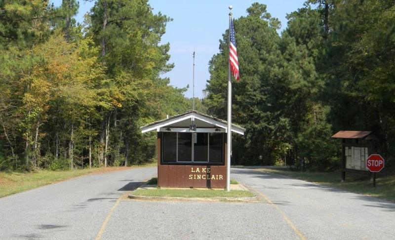 Lake Sinclair Recreation Area - Eatonton, GA - Free ...