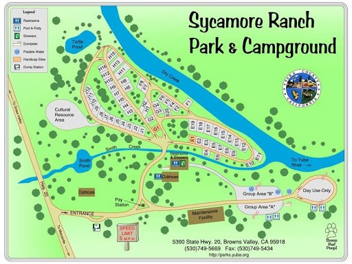 Sycamore Ranch - Browns Valley, CA - County / City Parks
