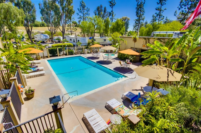 Circle RV Resort - El Cajon, CA - RV Parks