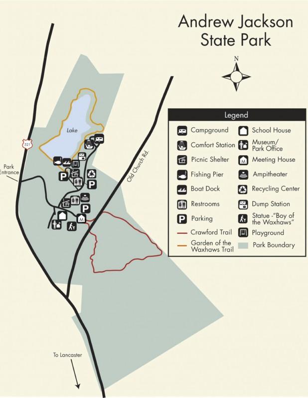 Andrew Jackson State Park - Lancaster, SC - South Carolina State Parks