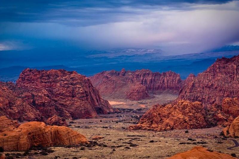 Snow Canyon State Park - Utah - Jeffrey Favero Fine Art ...  |Snow Canyon State Park Utah