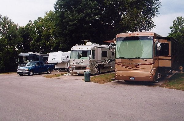 Campus RV Park - Independence, MO - RV Parks