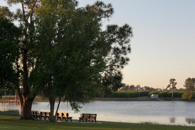 Reflections On Silver Lake Avon Park Fl Rv Parks