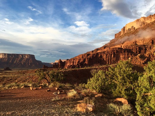 Fisher Towers Campground - Moab, UT - RV Parks