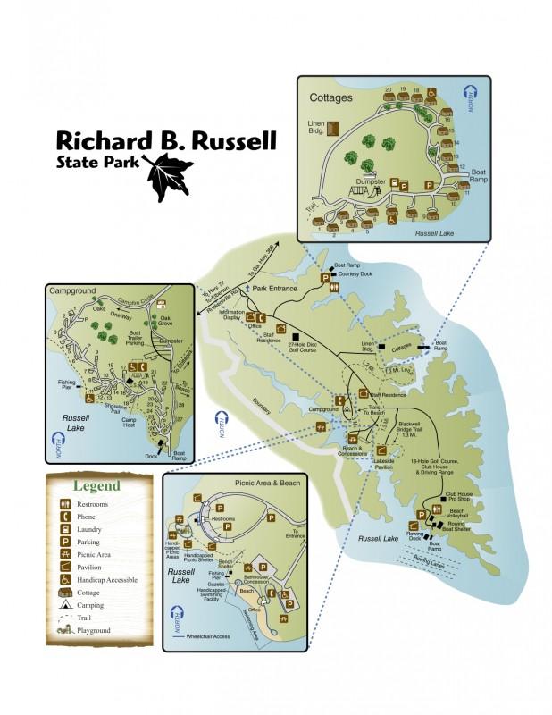 Richard B. Russell State Park - Elberton, GA - Georgia State Parks