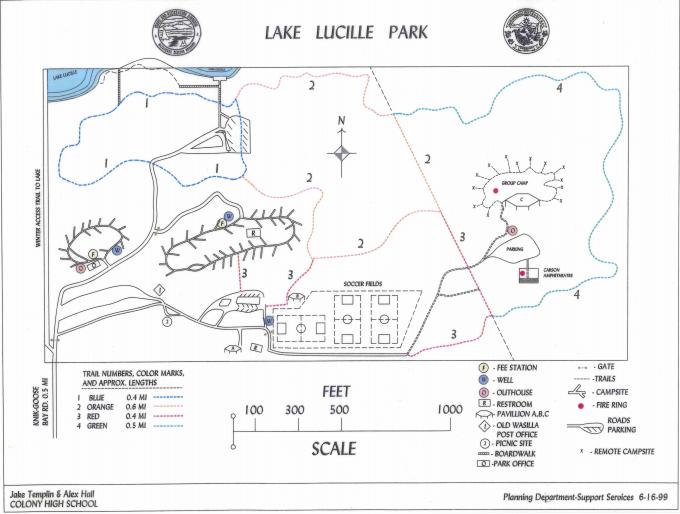 Lake Lucile Park - Wasilla, AK - County / City Parks