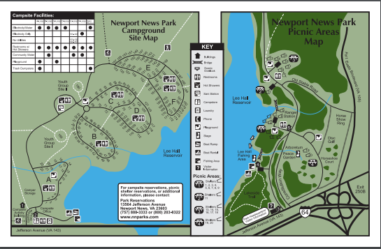 Newport News Park  - Newport News, VA - County / City Parks