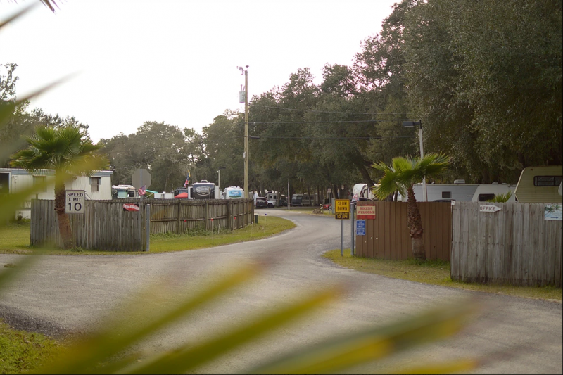 Gold Rock RV Park - New Smyrna Beach, FL - RV Parks