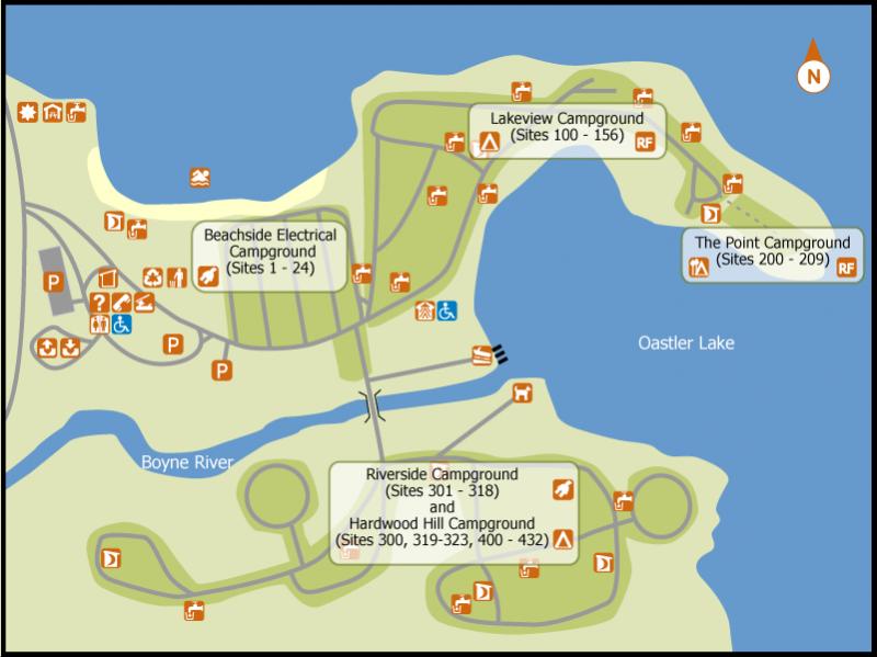 Oastler Lake Provincial Park Parry Sound On Rv Parks