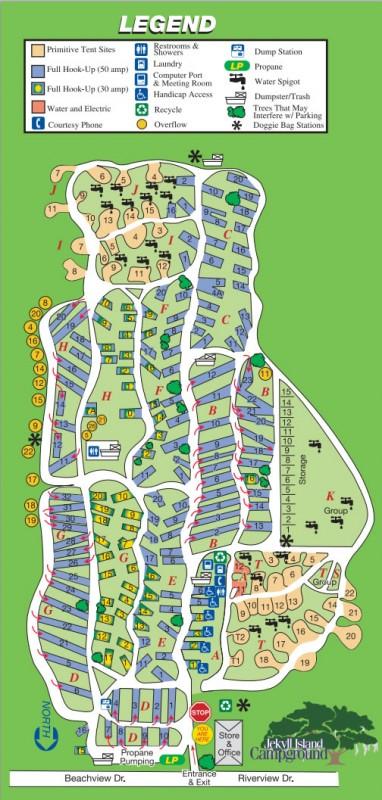 Jeckyll Island Rv Parks