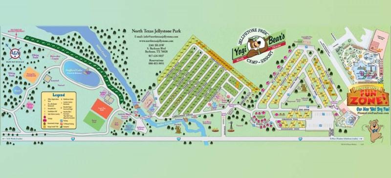 Yogi Bears Jellystone Park North Texas Camp Resort