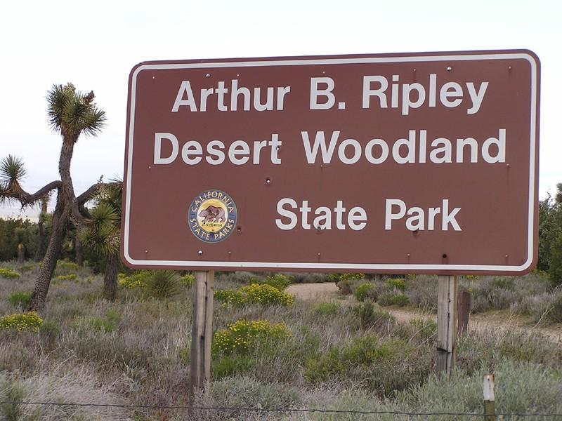Arthur B. Ripley Desert Woodland State Park - Lancaster, CA - California State Parks