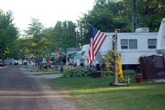 Indian Creek Camping Resort Geneva Oh Rv Parks