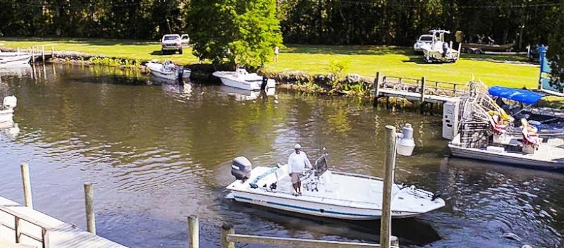 Gulf hammock hunting club cedar key dog car seat covers for Fish camps for sale in florida