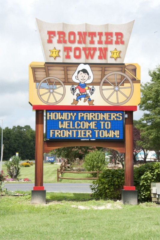 frontier town campground - berlin  md - sun resorts