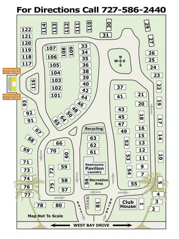 West Bay Oaks Mobile Home & Rv Park - Largo, FL - RV Parks