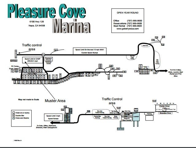 Pleasure Cove Campground - Napa, CA - RV Parks