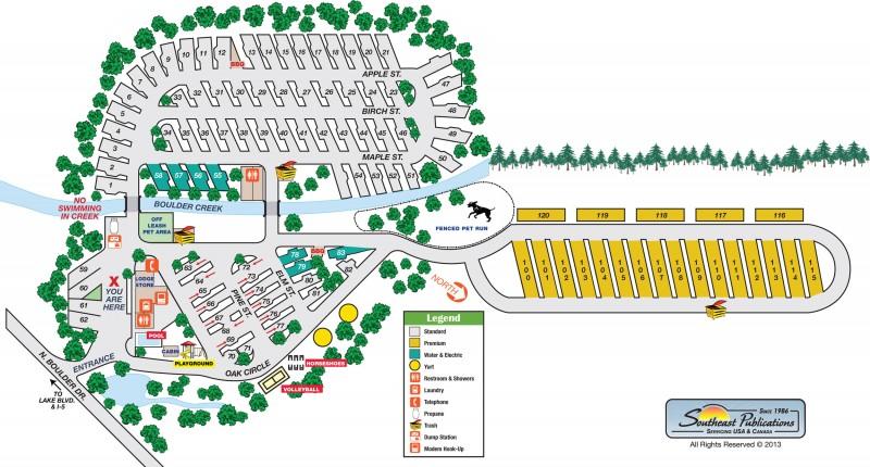 Redding Premier RV Resort  - Redding, CA - RV Parks