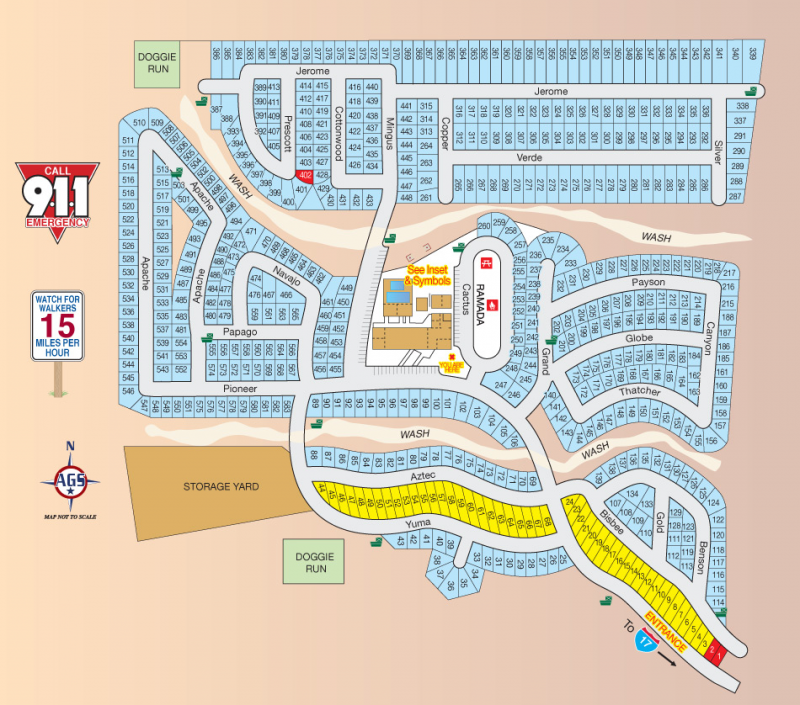 Pioneer RV Resort - Phoenix, AZ - RV Parks