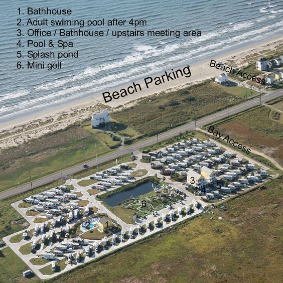 Jamaica Beach Rv Resort Galveston Tx Parks