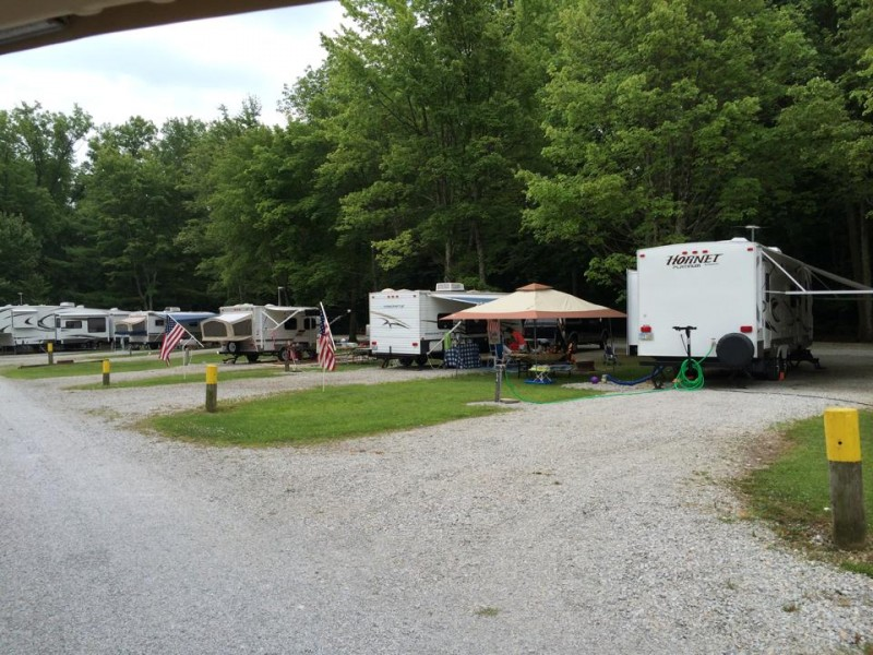 Olive Branch Campground - Oregonia, OH - RV Parks