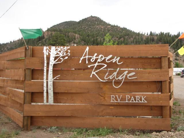 Aspen ridge rv park south fork co rv parks for Aspen ridge