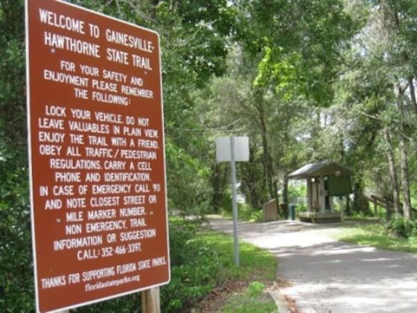 Gainesville-Hawthorne State Trail - Gainesville, FL - RV Parks