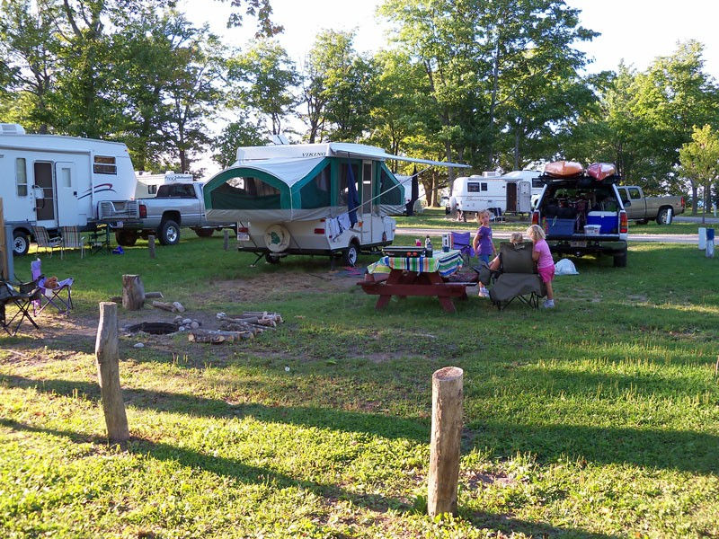 Grand Island Mi Camping