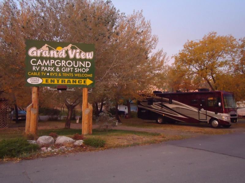 Grand View Campground - Hardin, MT - RV Parks
